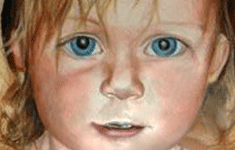 Colored Pencil Portraiture: Abby, 4 years old